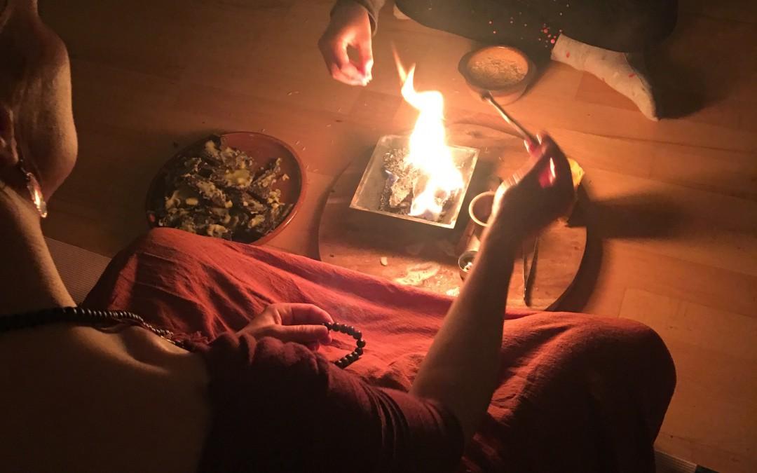Vollmond-Transformations-Feuerzeremonie